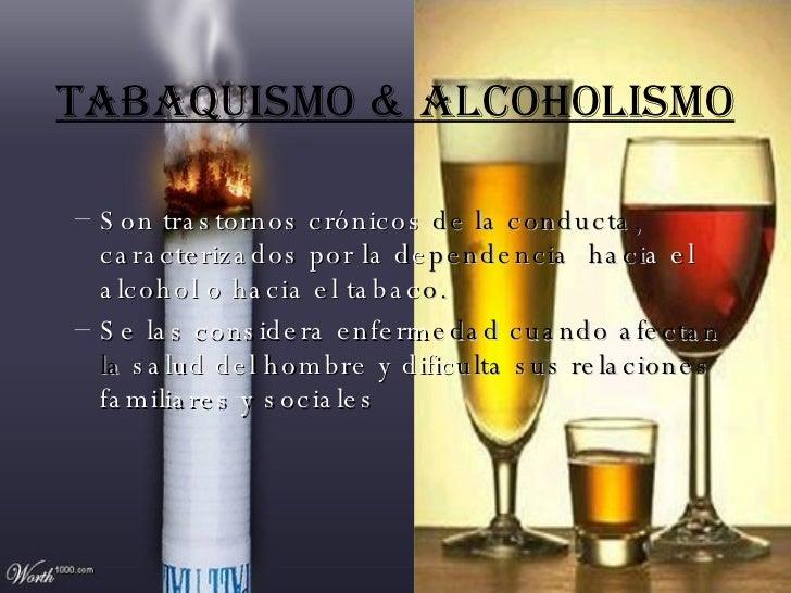 El vómito por la mañana al alcoholismo