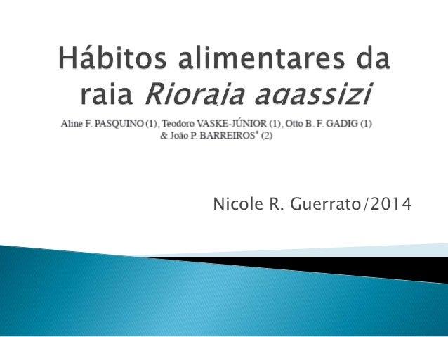 Nicole R. Guerrato/2014