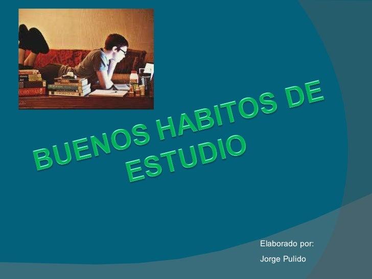 Elaborado por: Jorge Pulido