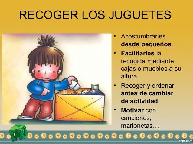 H bitos relacionados con la vida cotidiana for Recoger muebles