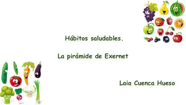 Hábitos saludables. La pirámide de Exernet Laia Cuenca Hueso