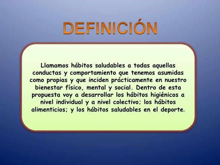 Hábitos saludables ef Slide 2