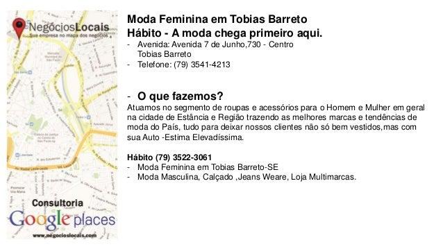 Moda Feminina em Tobias Barreto Hábito - A moda chega primeiro aqui. - Avenida: Avenida 7 de Junho,730 - Centro Tobias Bar...