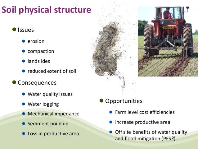 Status and priorities of soil management in the united for Soil king productions