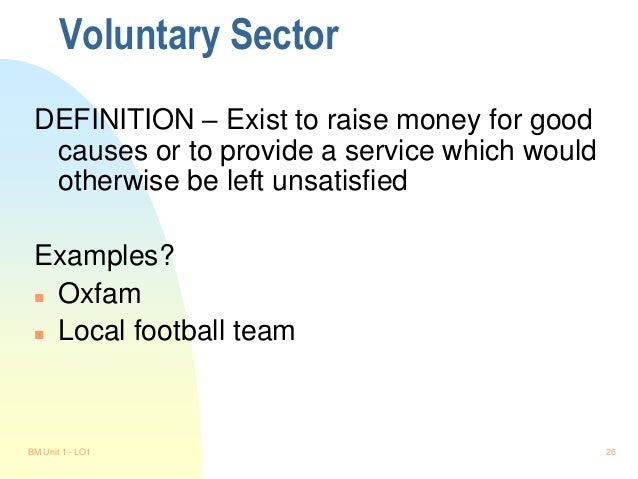 Voluntary association