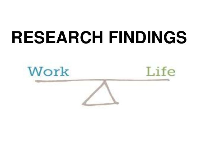 work life balance research papers How american parents balance work and family life when both  a new pew research center report looks at how working moms and dads in two-parent households are.