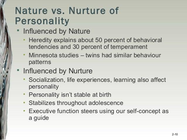 Dissertation title: Character Versus Nurture: Which unfortunately Decides Personality?