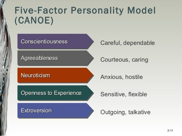 five factor theory The five-factor model (ffm) of personality variation has been  success of  personality psychology, but to date, no extensive theory exists that.