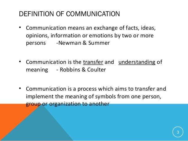 information on means of communication 12 min read(for more resources related to this topic, see here) communication is not something which we consciously think about in most situations however, let me urge you to start.