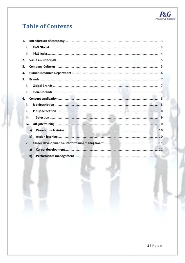 human resources at proctor and gamble essay Procter & gamble's organizational structure, its features, pros, cons and recommendations are shown in this consumer goods business case study and analysis.