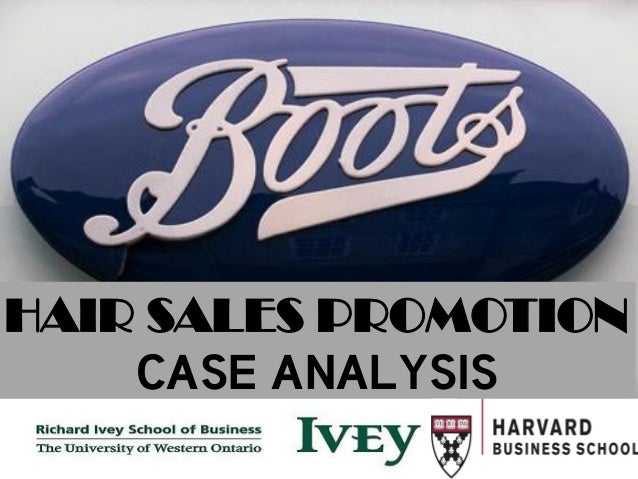 Boots: Hair-Care Sales Promotion Essay