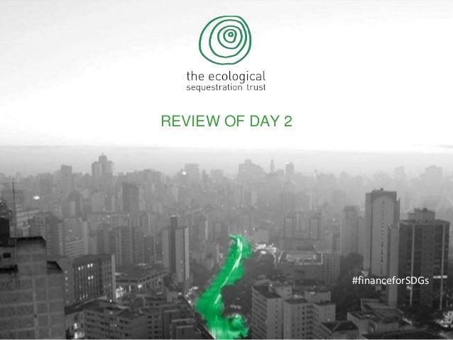 REVIEW OF DAY 2 #financeforSDGs