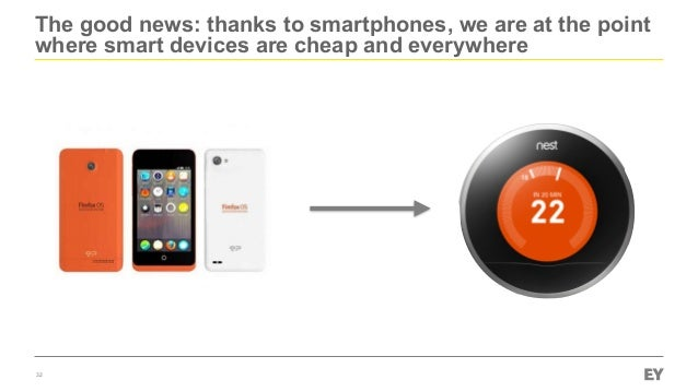 The good news: thanks to smartphones, we are at the point where smart devices are cheap and everywhere 32