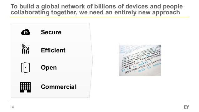 To build a global network of billions of devices and people collaborating together, we need an entirely new approach 35 Se...