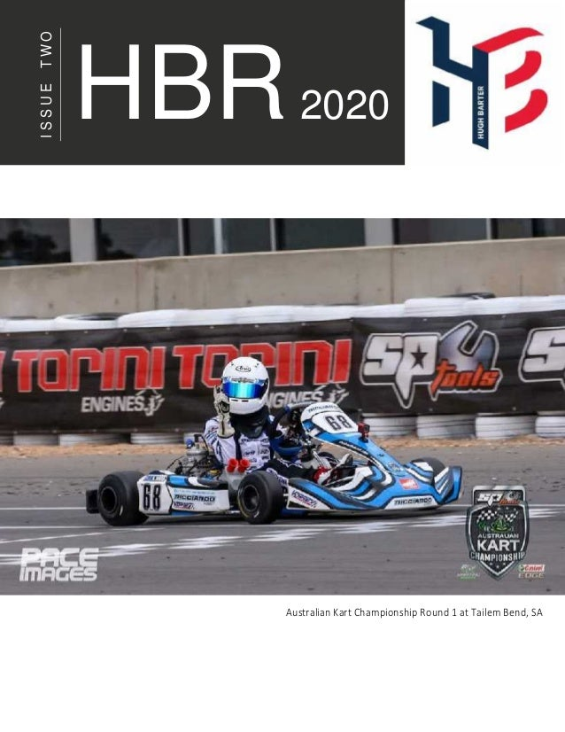 ISSUETWO Australian Kart Championship Round 1 at Tailem Bend, SA HBR2020