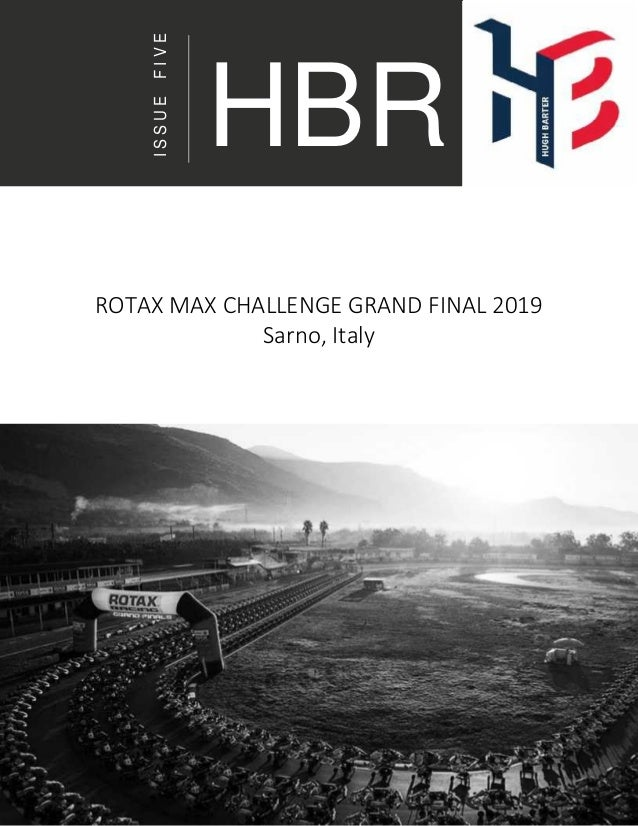 ISSUEFIVE ROTAX MAX CHALLENGE GRAND FINAL 2019 Sarno, Italy HBR