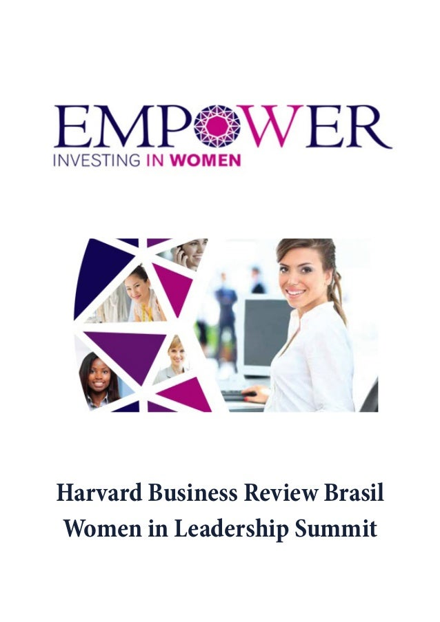SUMÁRIO DAS APRE- Harvard Business Review Brasil Women in Leadership Summit
