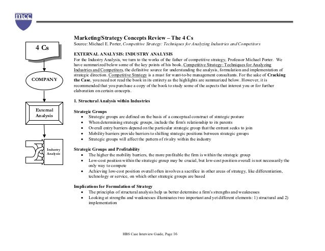 hbs case study teaching notes A link to their email is provided next to the case listing other cases and teaching notes can each case study harvard business school co-branded case.