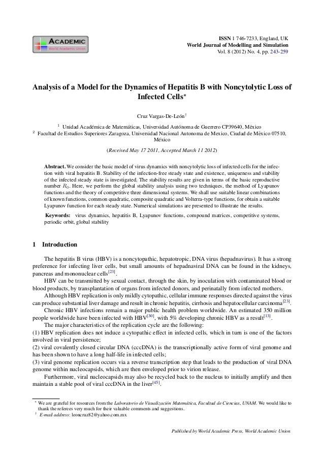 ISSN 1 746-7233, England, UK                                                                                 World Journal...