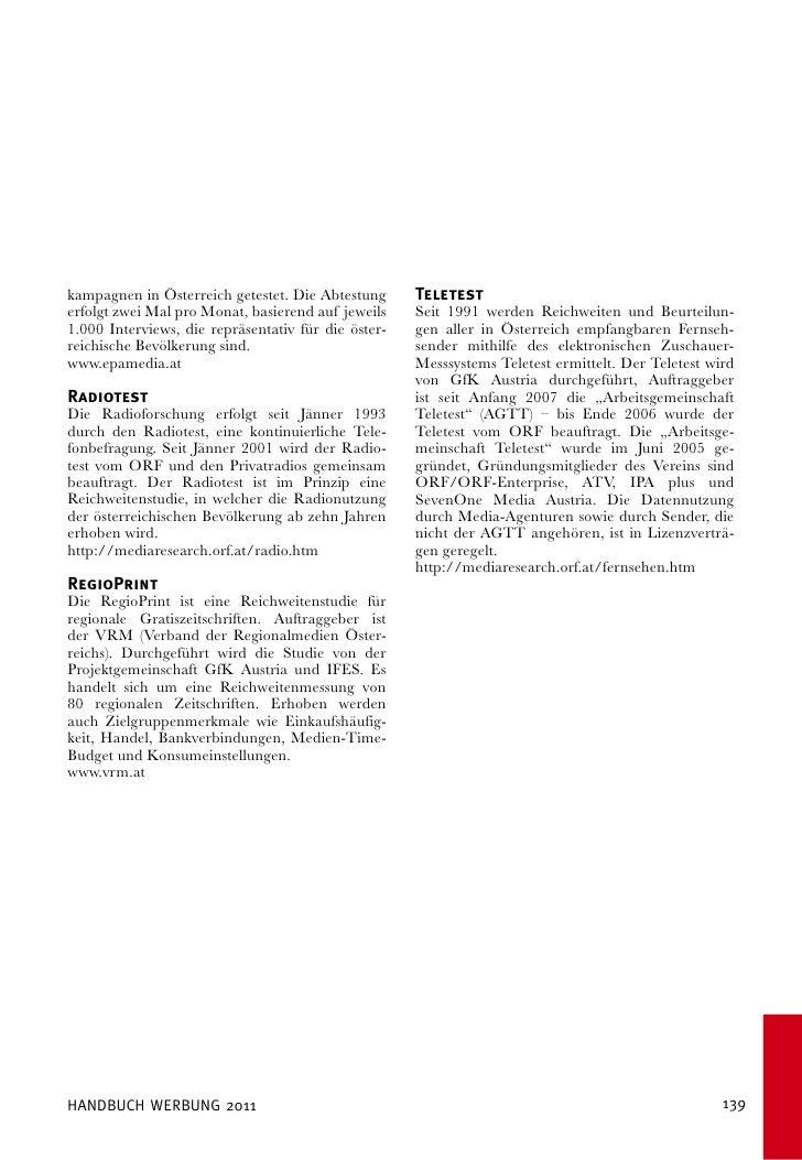 Handbuch der Fachgruppe Werbung Wien