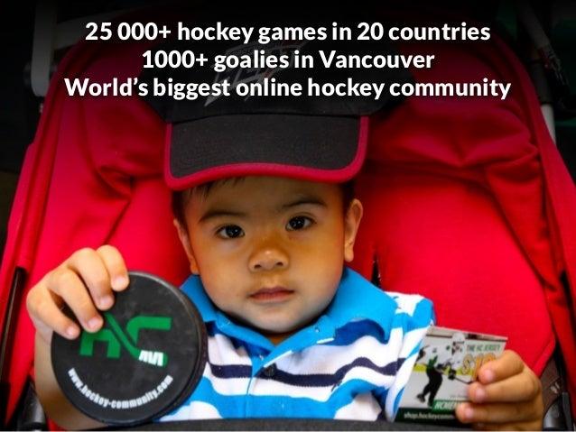 Hockey Community, making hockey more accessible. - 웹