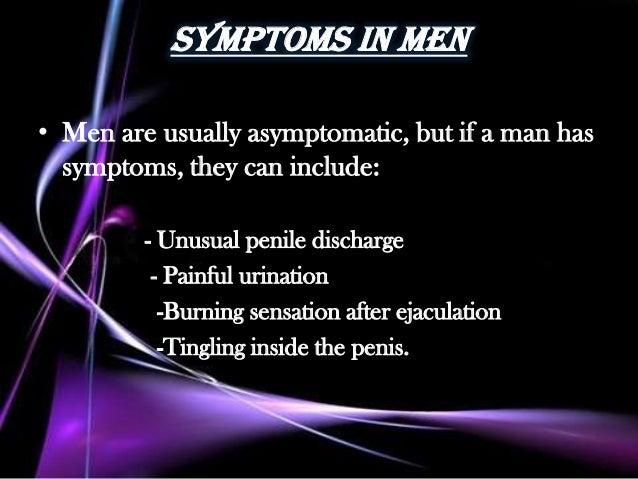 Penis burning after ejaculation