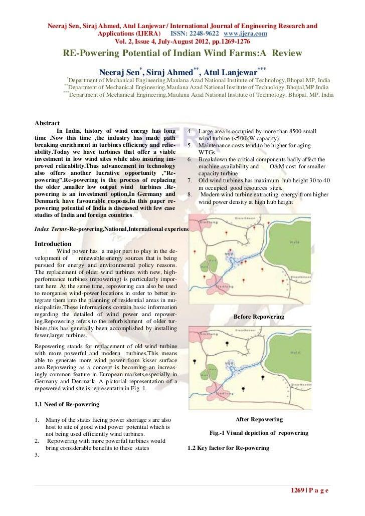 Neeraj Sen, Siraj Ahmed, Atul Lanjewar / International Journal of Engineering Research and                       Applicati...