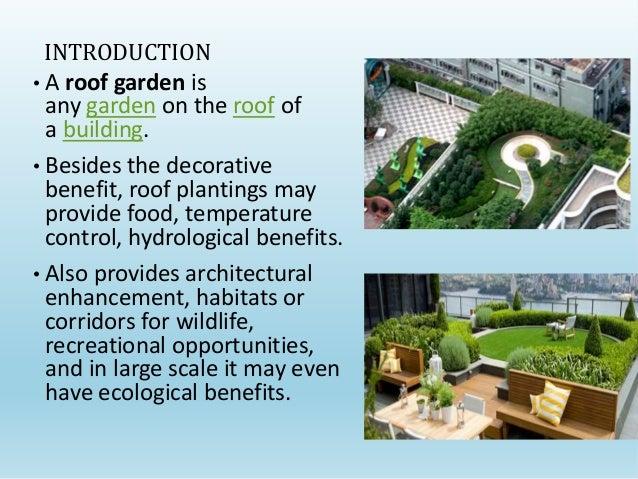 ROOF GARDEN SUBMITTED BY NISHA 11603 ANEESHA 11609 SAHIL KAUNDAL 11613  YASHASAVI 11620 JYOTI NEGI 11634. Rooftop Garden Benefits   SNSM155 com