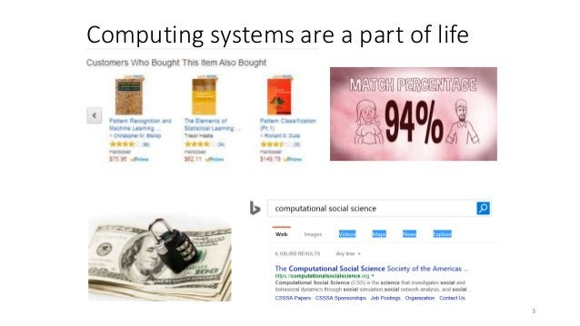 Computing systems are a part of life 3