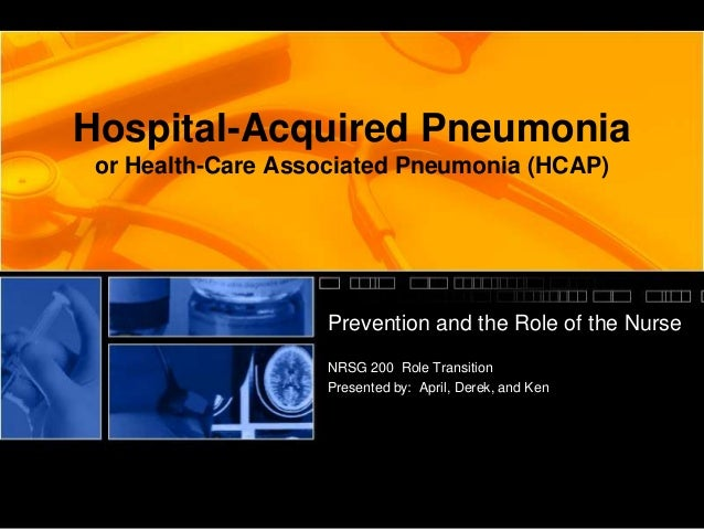 idsa hospital acquired pneumonia guidelines