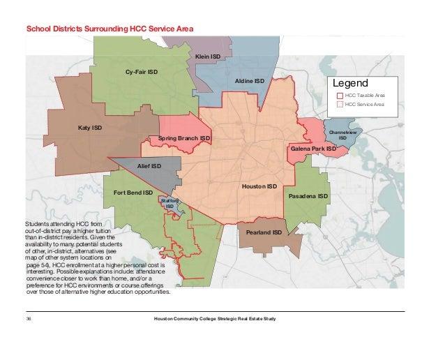 Hcc Alief Campus Map.Houston Community College Strategic Real Estate Study Houston Texas