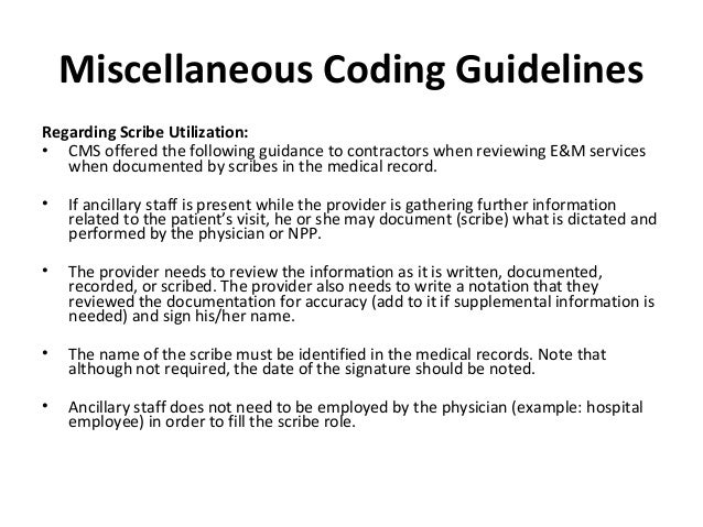 cms coding guidelines for physical therapy