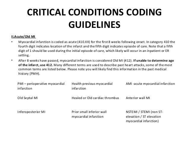 hcc coding training manual rh slideshare net Inpatient Coding Resource AHIMA Inpatient Coding
