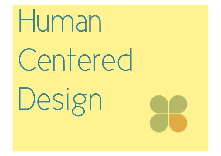 HumanCenteredDesign