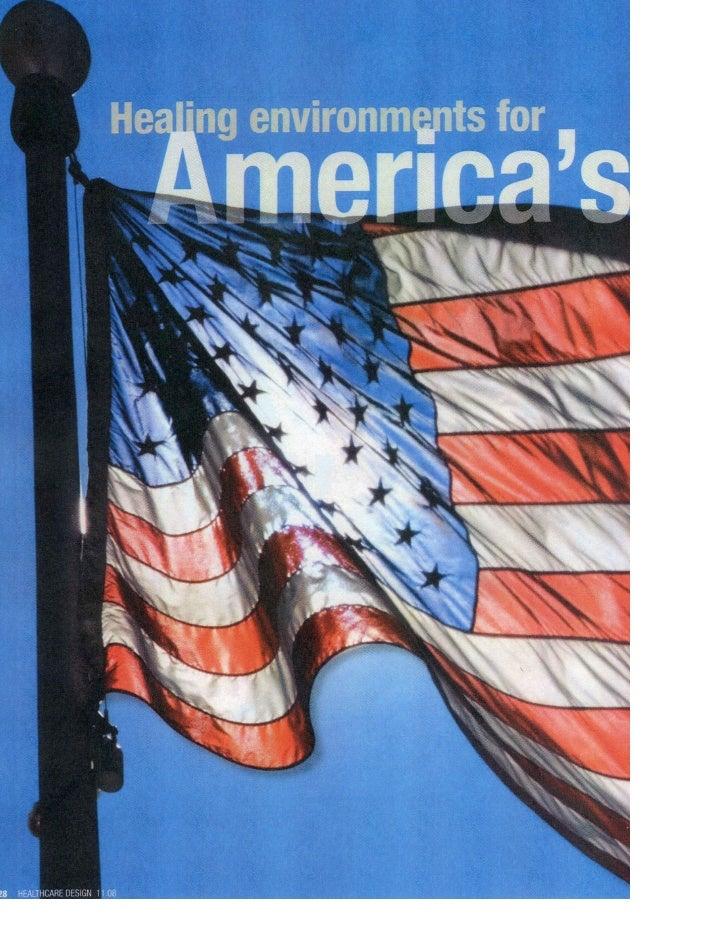 HEALTHCARE DESIGN FOR AMERICA'S HEROS