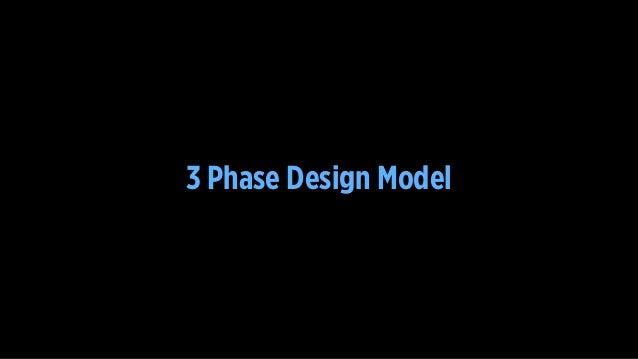 3 Phase Design Model
