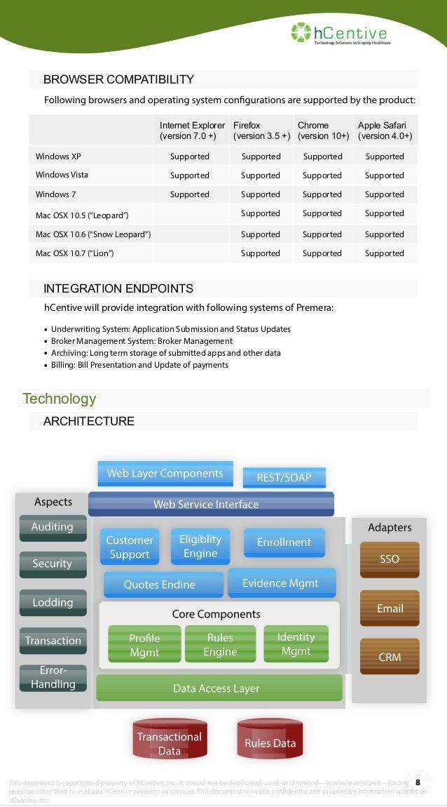 hCentive Webinsure Consumer