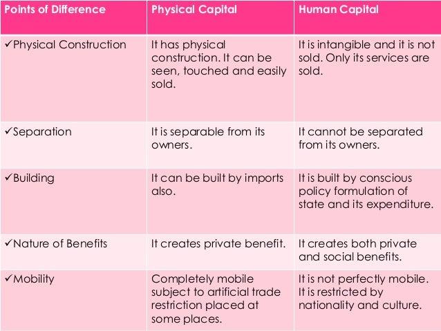 Essay on human capital development