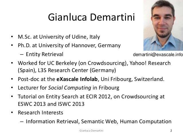 Human Computation for Big Data Slide 2