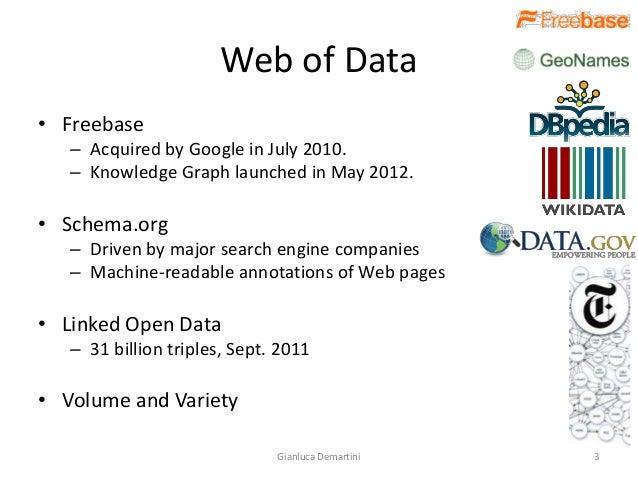 Human Computation for Big Data Slide 3