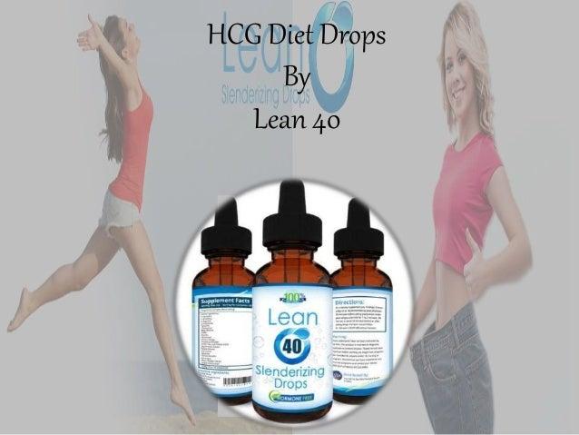 HCG Diet Drops By Lean 40