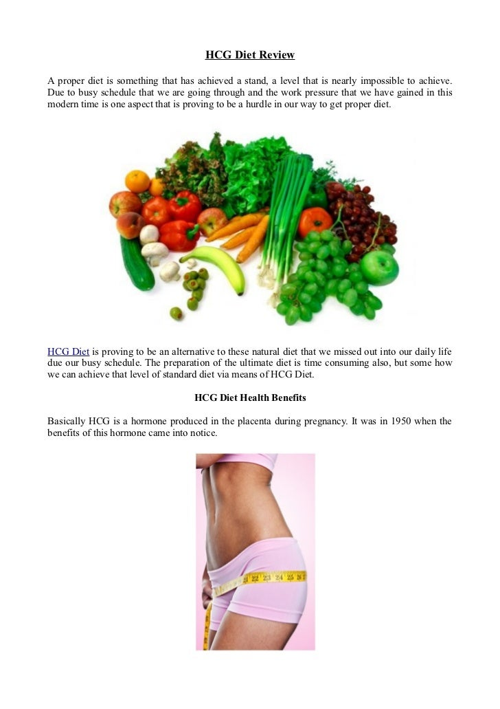 HCG Diet ReviewA proper diet is something that has achieved a stand, a level that is nearly impossible to achieve.Due to b...