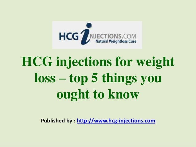 HCG injections for weightloss – top 5 things youought to knowPublished by : http://www.hcg-injections.com