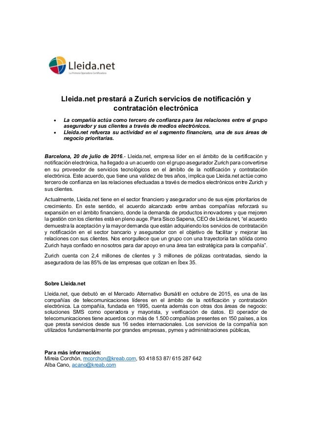 Hecho Relevante Lleida.net Slide 2