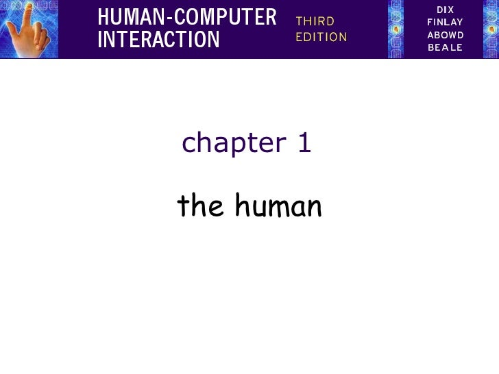 chapter 1 the human