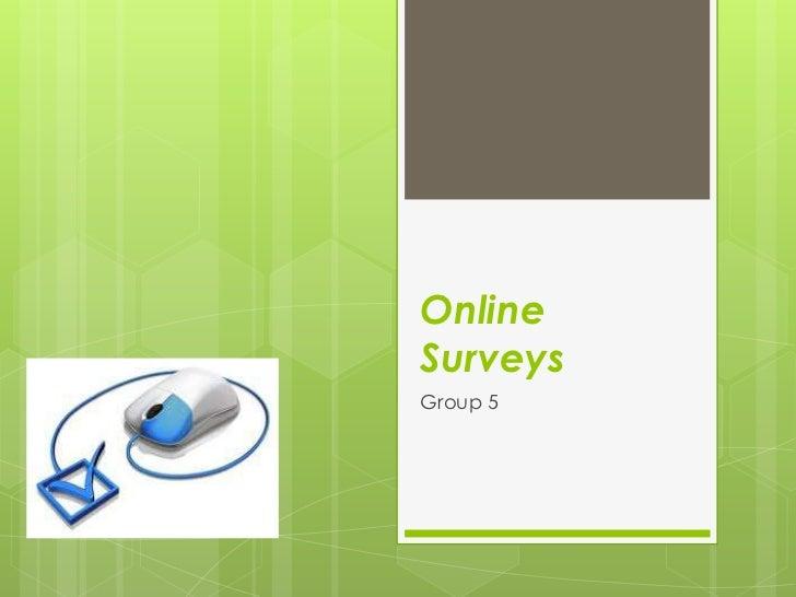 OnlineSurveysGroup 5