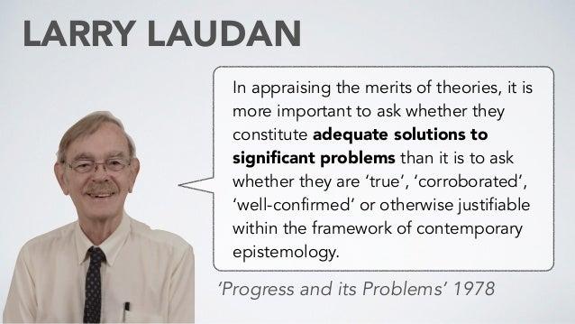 Image result for Larry Laudan