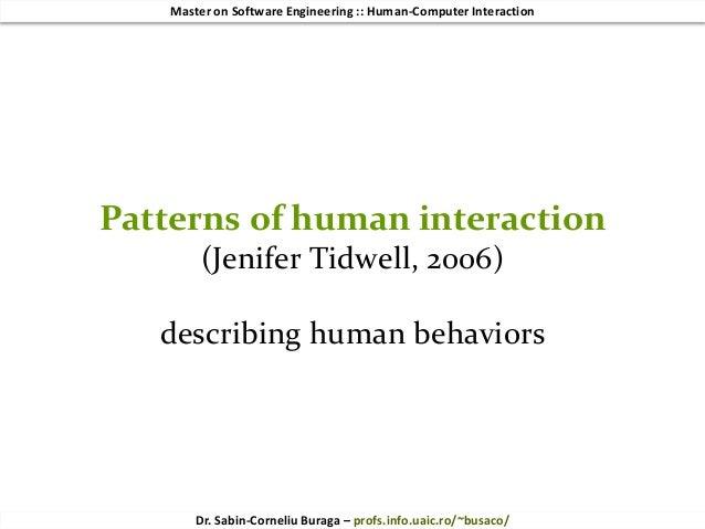 HCI 2018 (6/10) Design Patterns for Social (Web/mobile