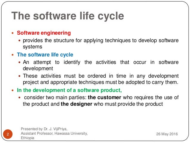 Human Computer Interaction Chapter 3 Hci In The Software Process And