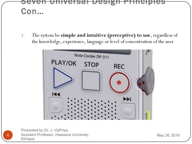 human computer interaction chapter 5 universal design and user suppor rh slideshare net Coby Mid USA Files Manuals Media Files Remington Owners Manuals
